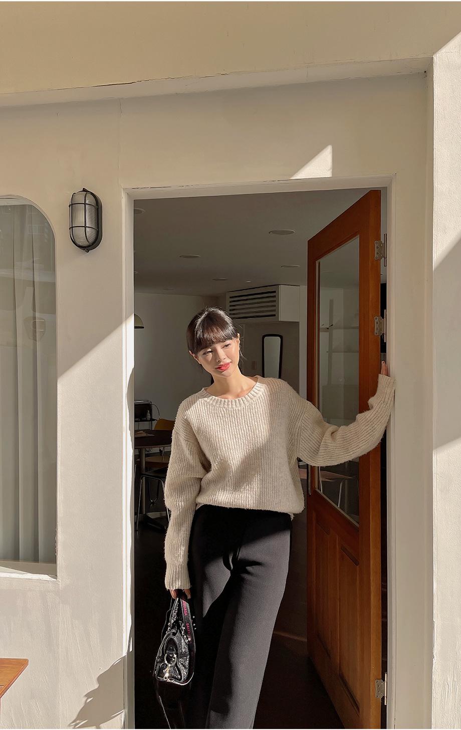 리리앤코 포포코 뒷밴딩 슬랙스