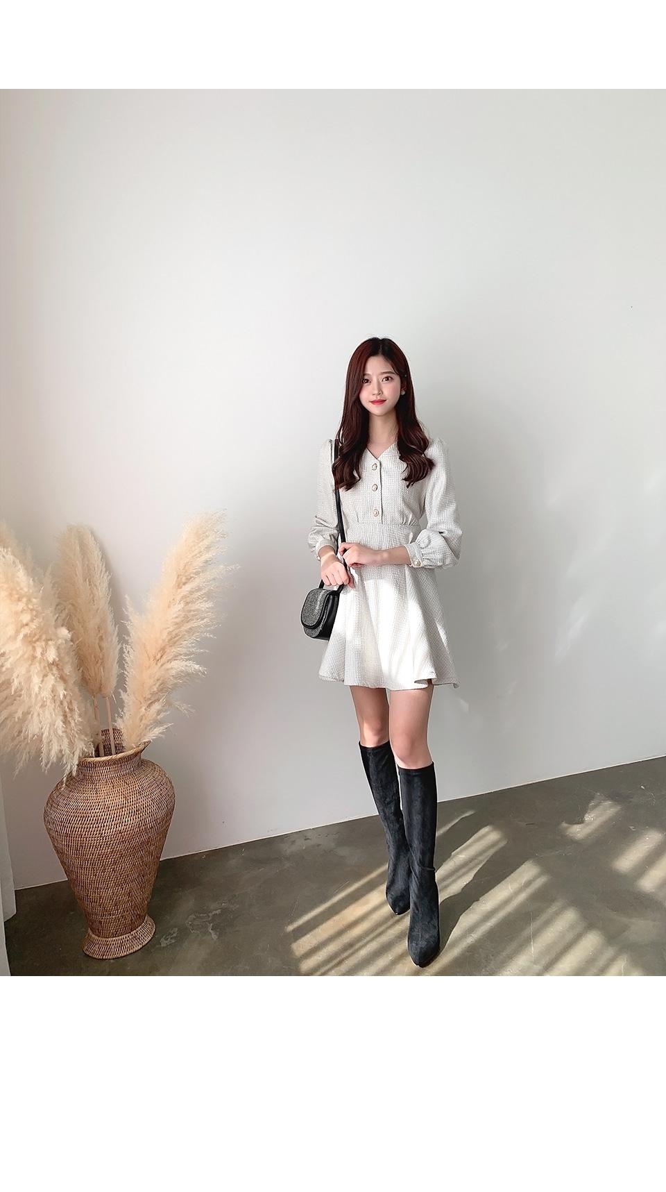 리리앤코 림쁘 진주 원피스